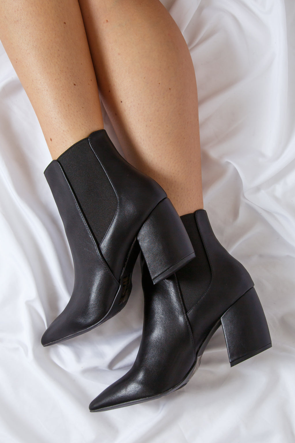 Milky Way Bootie Black
