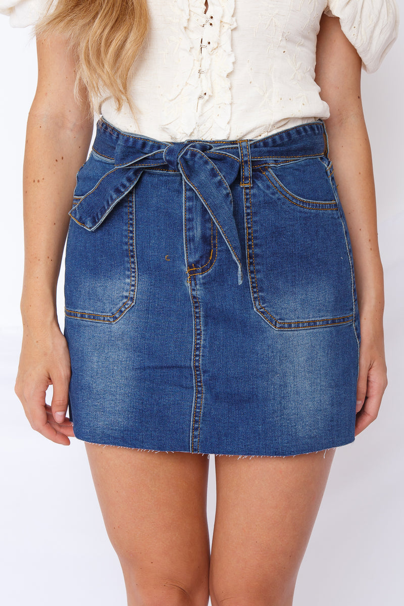 Blue Jean Baby Denim Skirt
