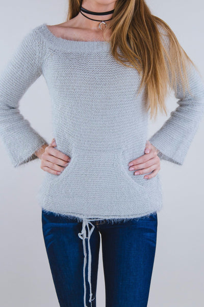 Jenna Sweater Silver