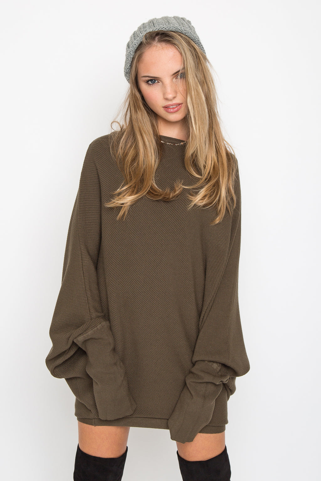 Cashmere Asymetric Sweater
