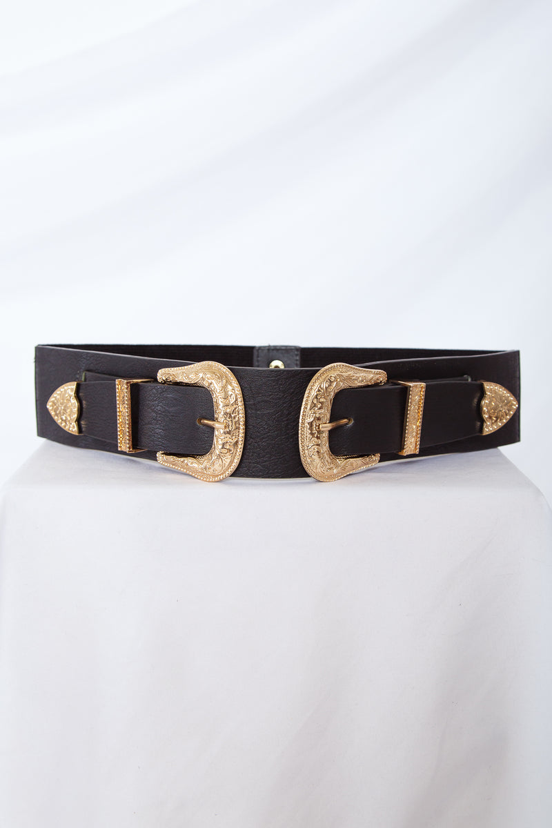 Double Buckle Waist Belt