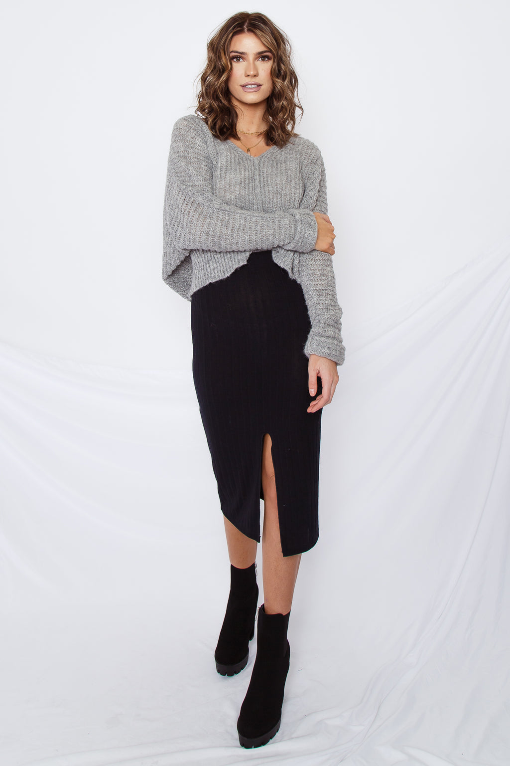 Free People Moonbeam V Sweater