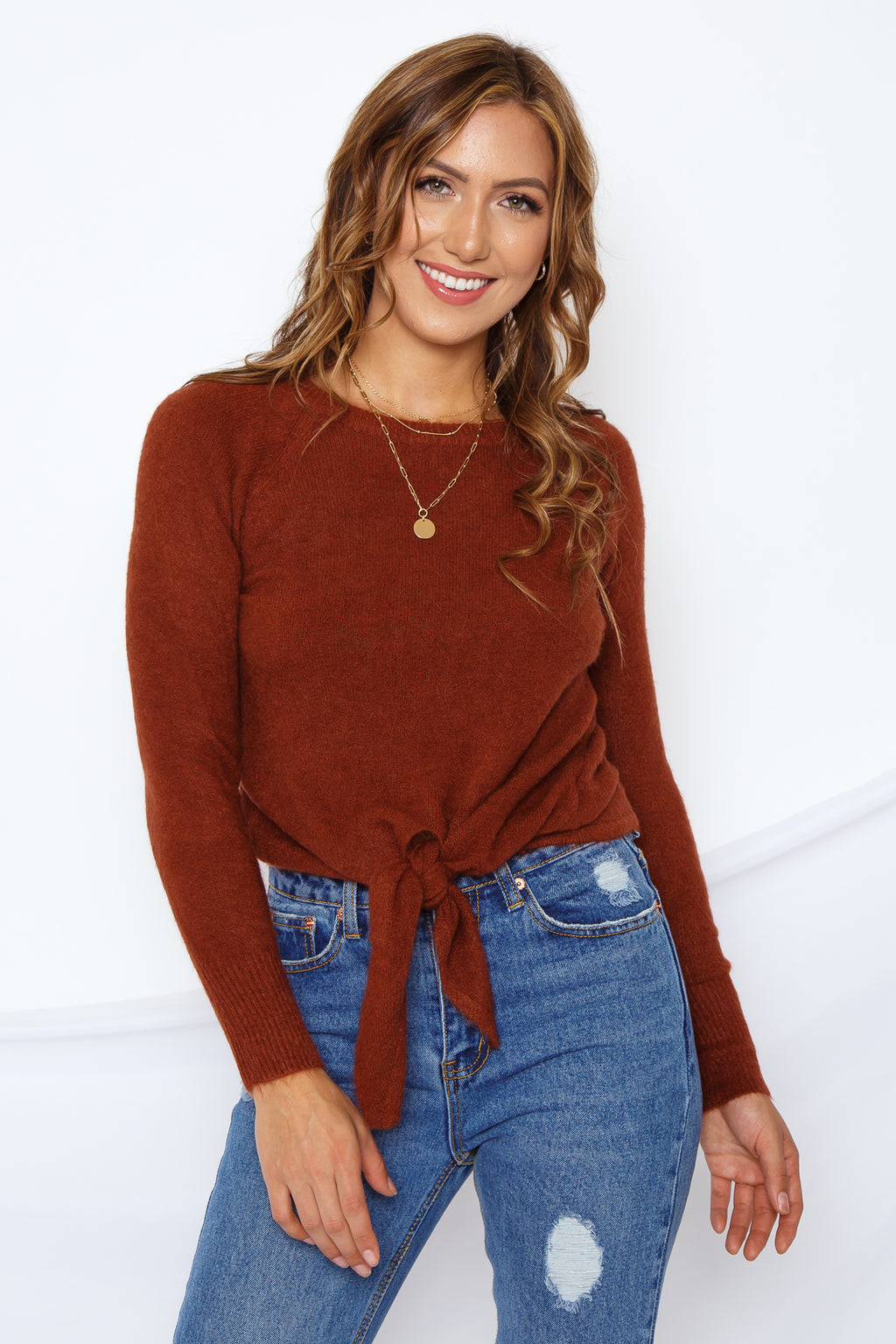 Angela Sweater Top