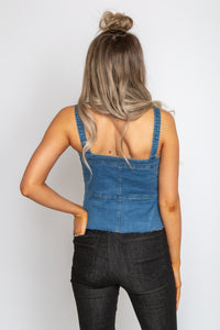 Dakota Denim Top