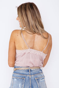 Lacey Bodysuit Taupe
