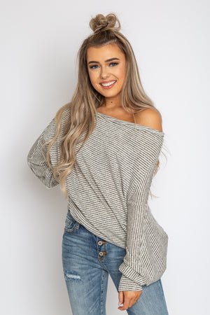 Dove off the Shoulder Top