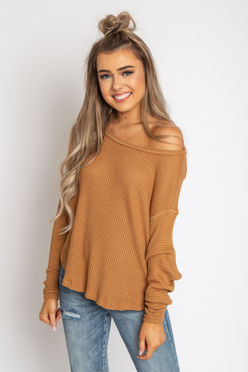 Thermal Pullover Top