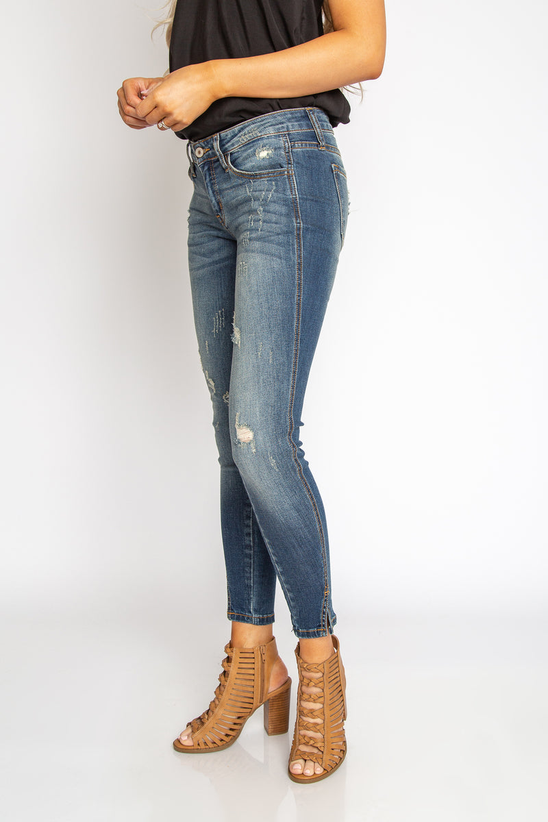 Tori Ankle Skinny Jeans