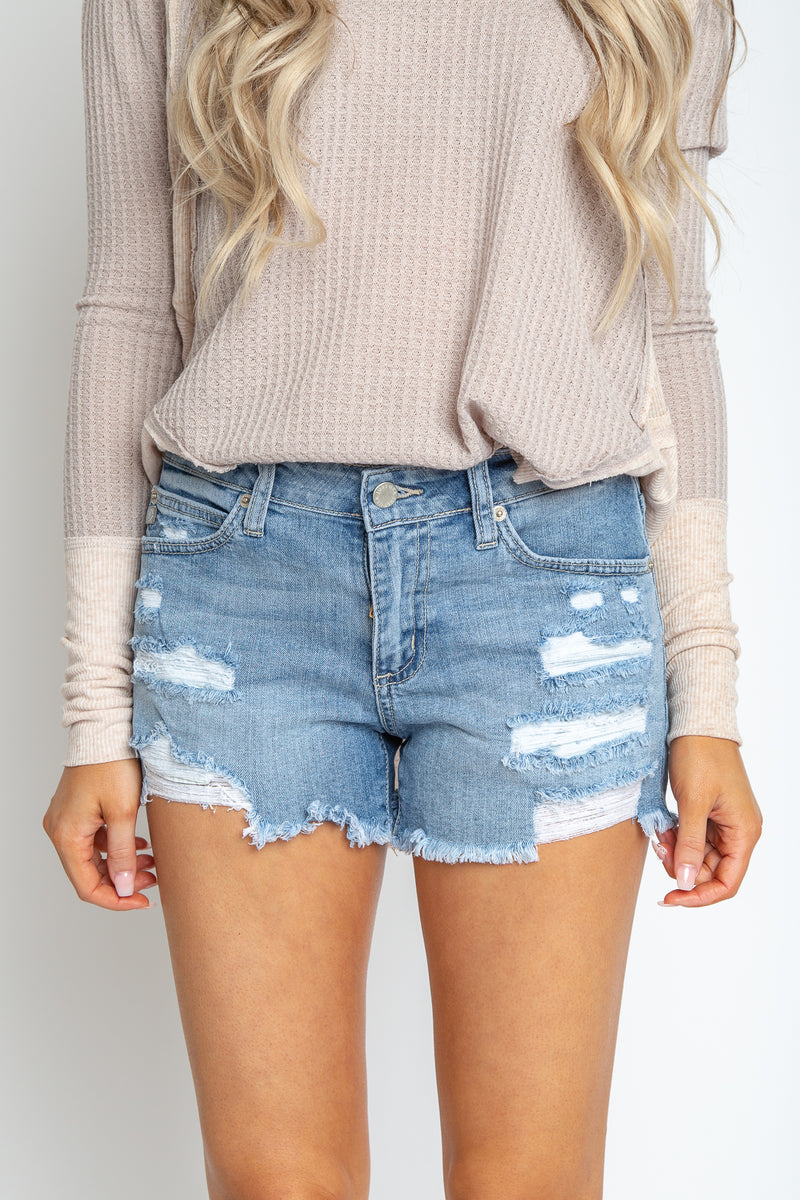 Demi Distressed Shorts