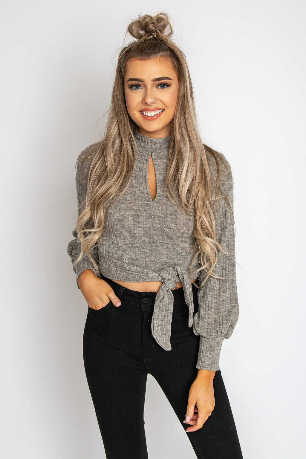 Tana Twisted Crop Top