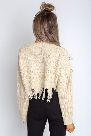 Cassandra Cropped Sweater