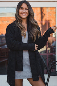 Bethany Cardigan Black