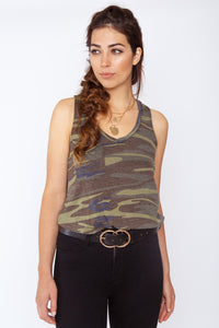 Z Supply Camo Racer Tank