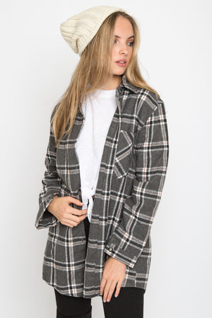 Paloma Plaid Top