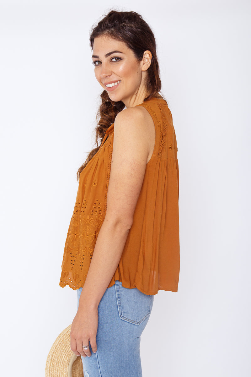 Myla Embroidered Top
