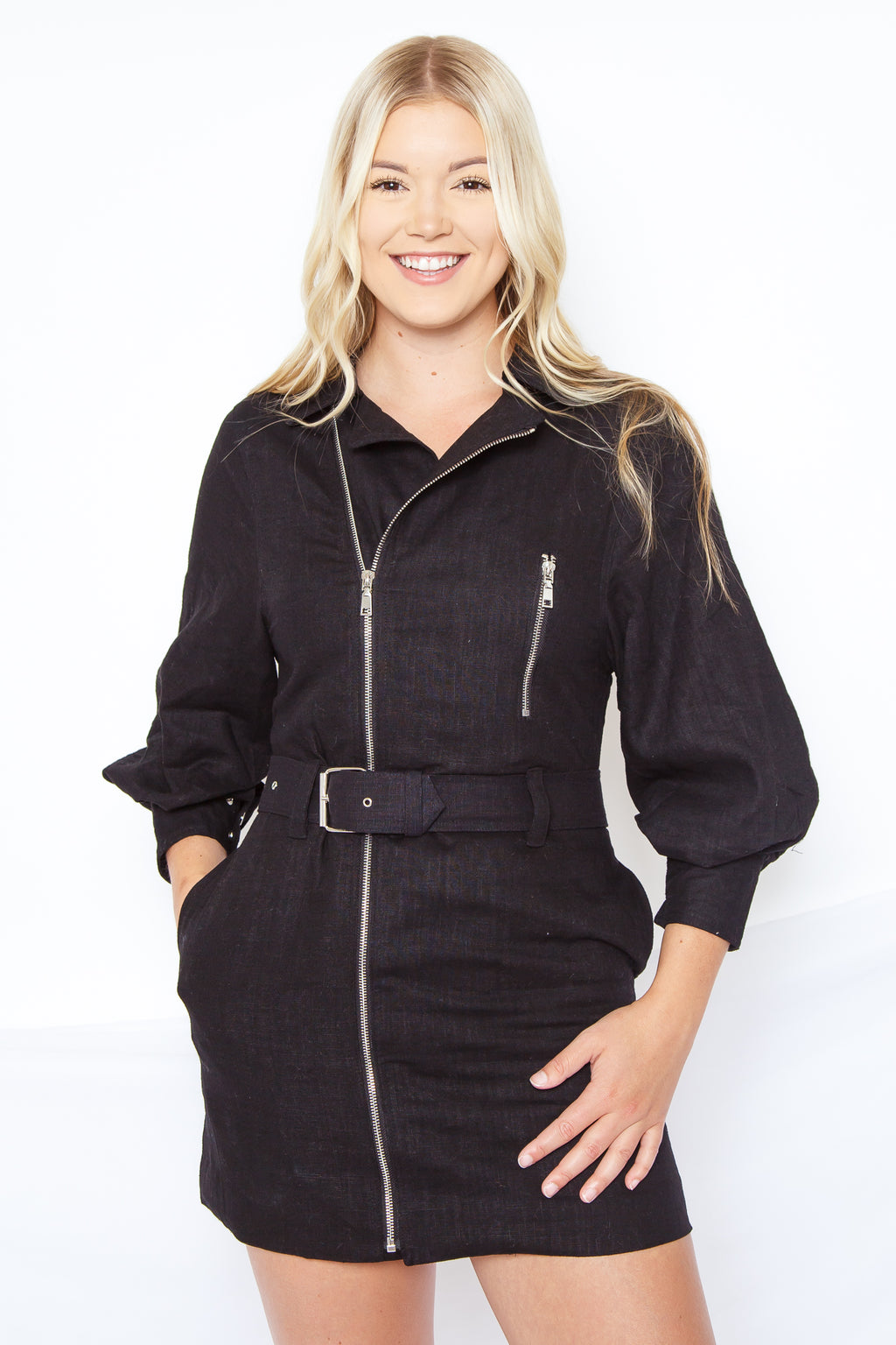 Cleo Zip Up Dress