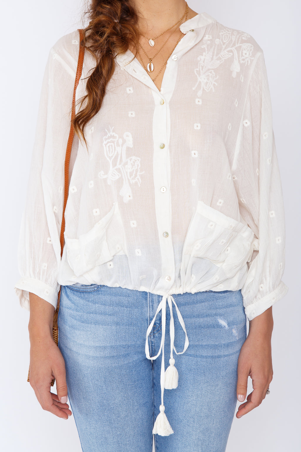Nella Embroidered Top