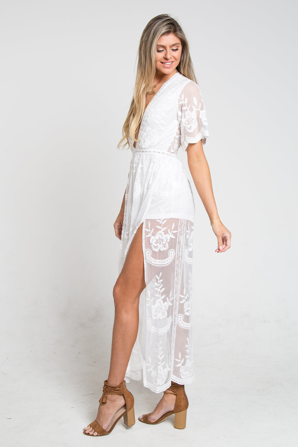 Chloe Dress Ivory