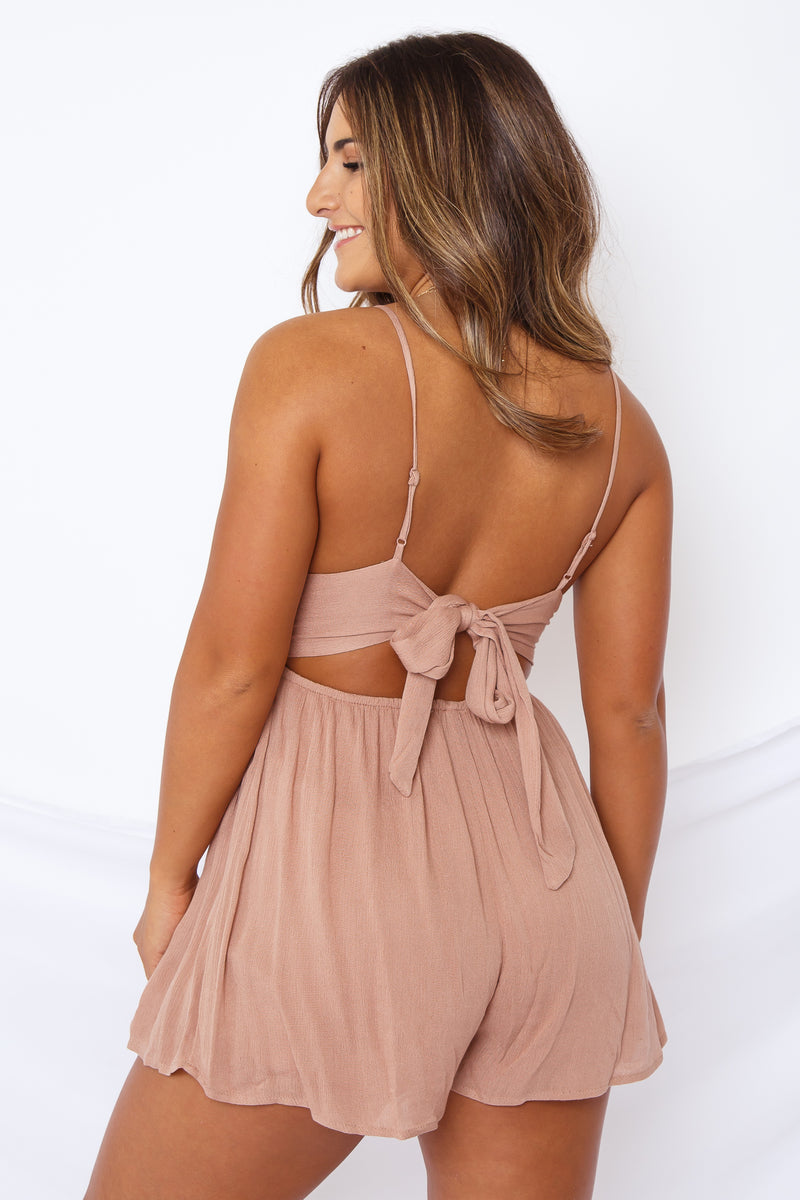 Esme Romper Dusty Rose