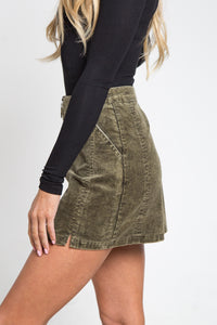 Must Have Corduroy Skirt