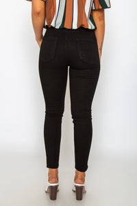 Just USA High Rise Crop Skinny