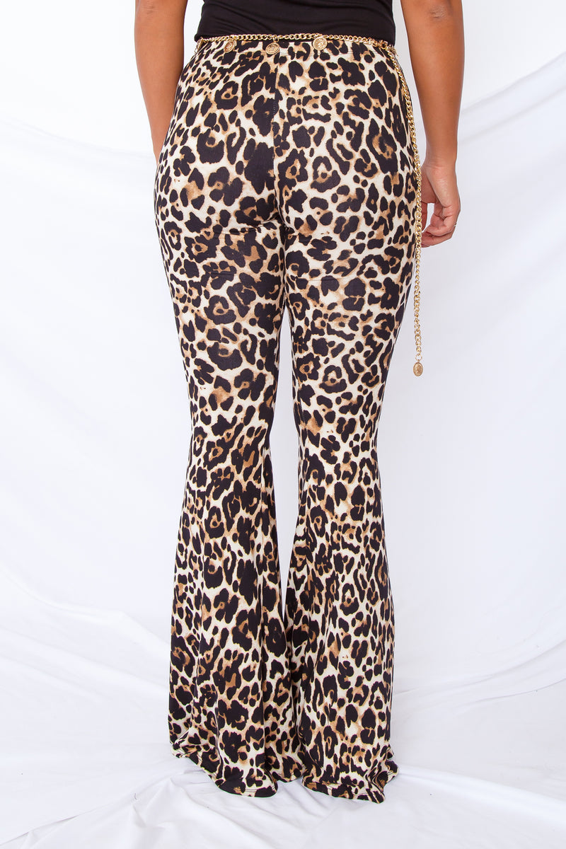Safari Spotted Bell Bottoms