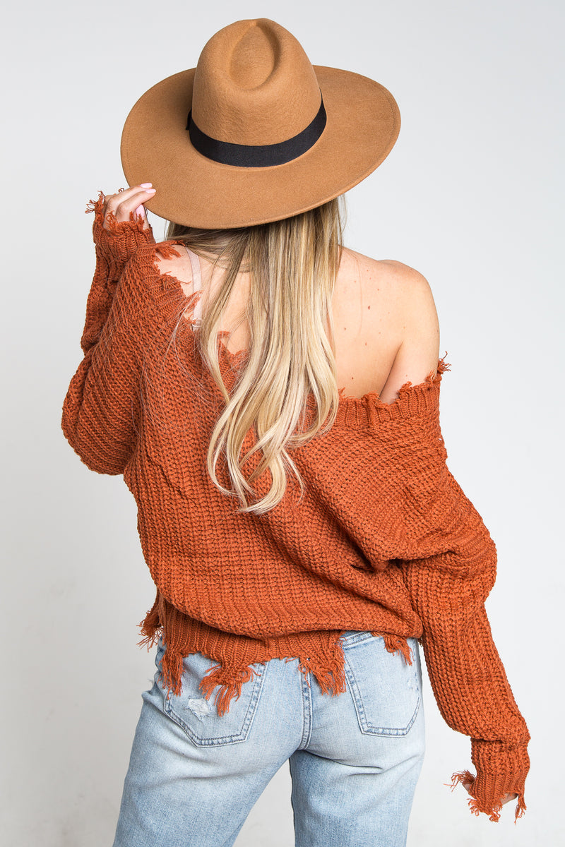 Ditsy Sweater