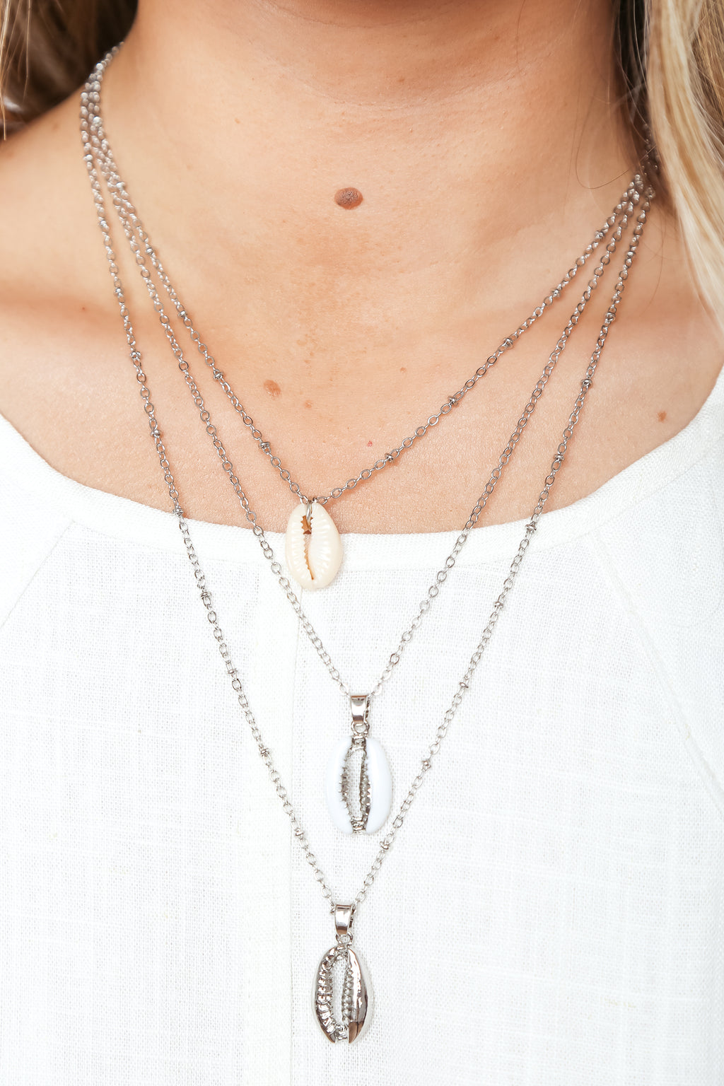 Pacifica Necklace Silver