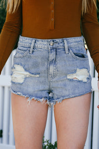 Maia Distressed Shorts