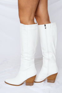Kerry Boot White