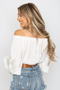 Brielle Bodysuit Ivory