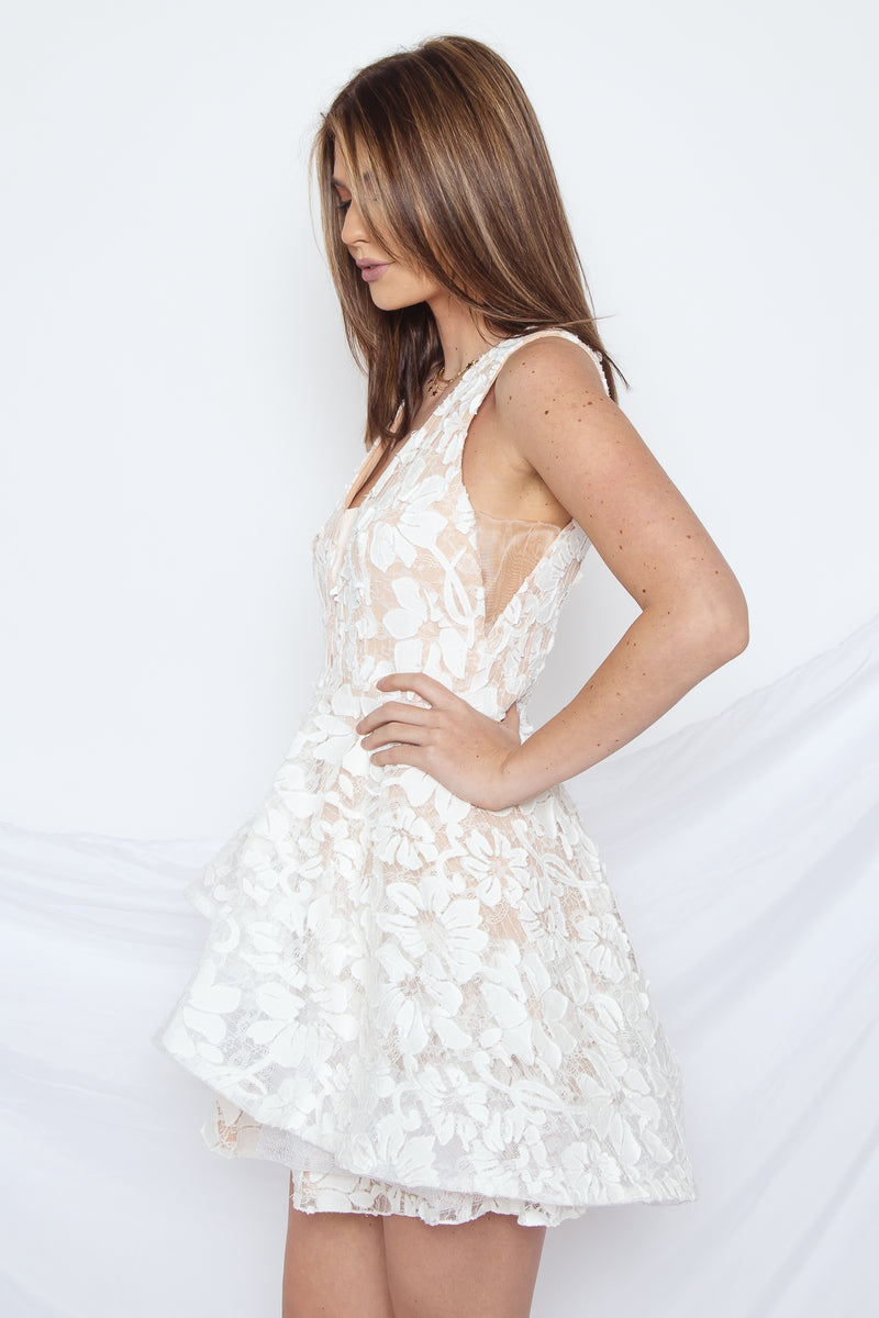 Layered in Lace Dress