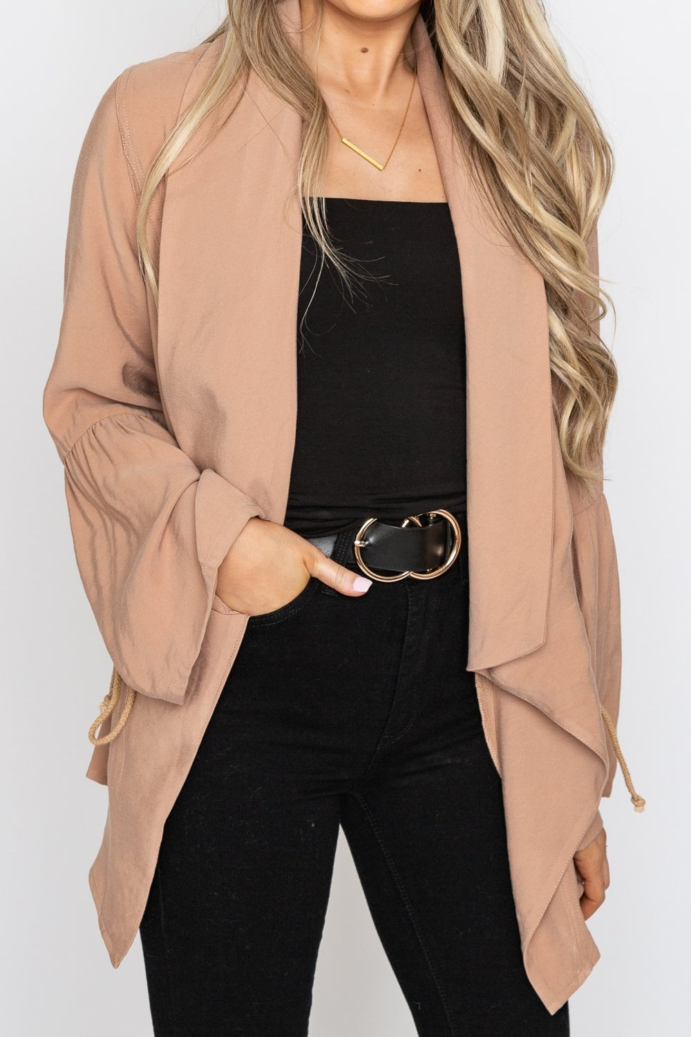 Terry Trench Coat