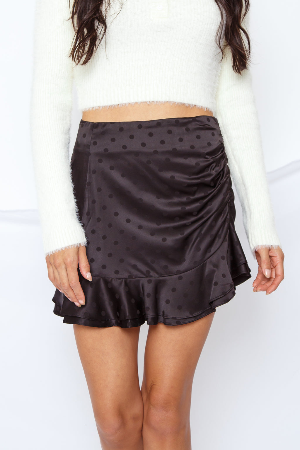 Jess Polka Dot Skirt