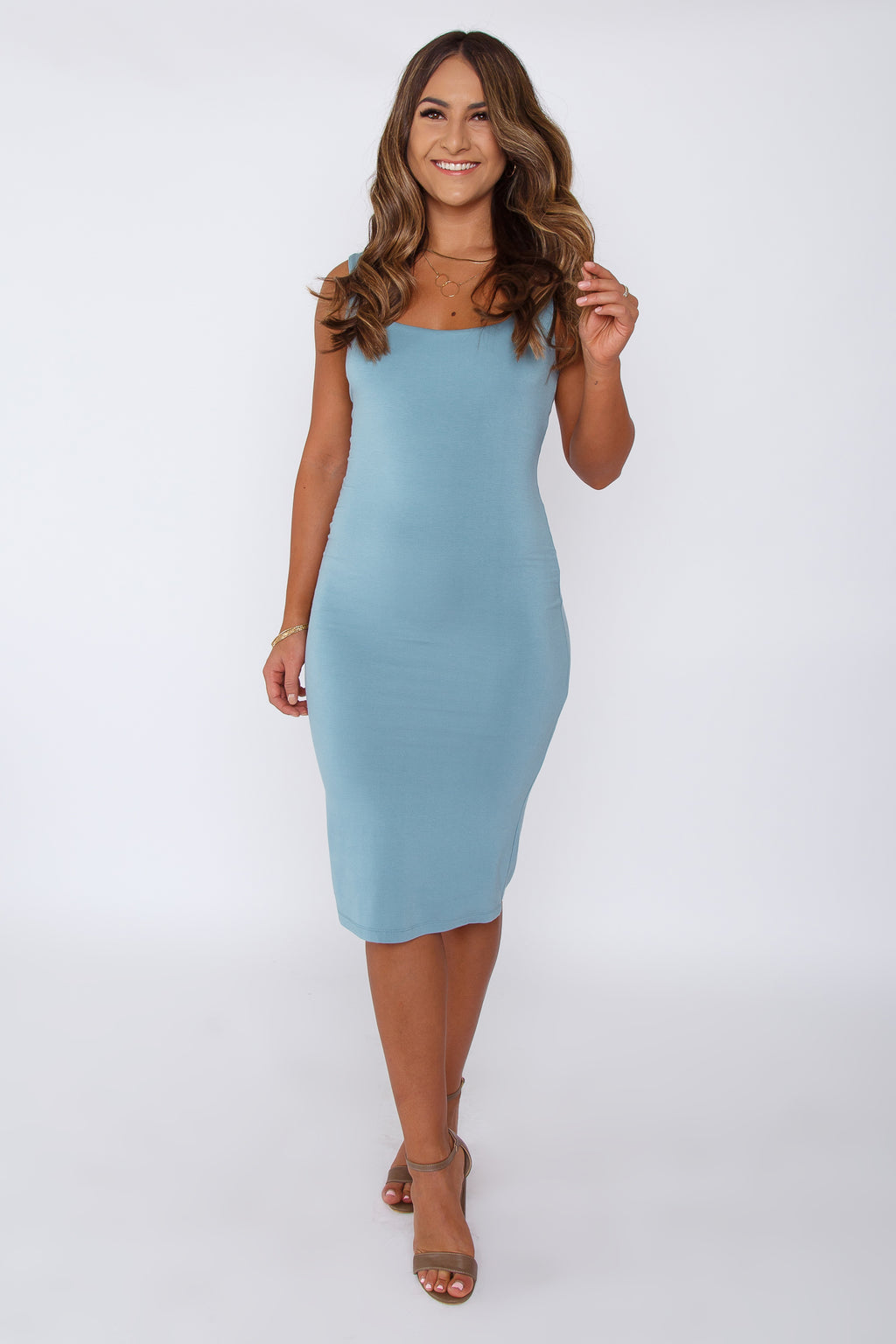 Tina Dress Blue