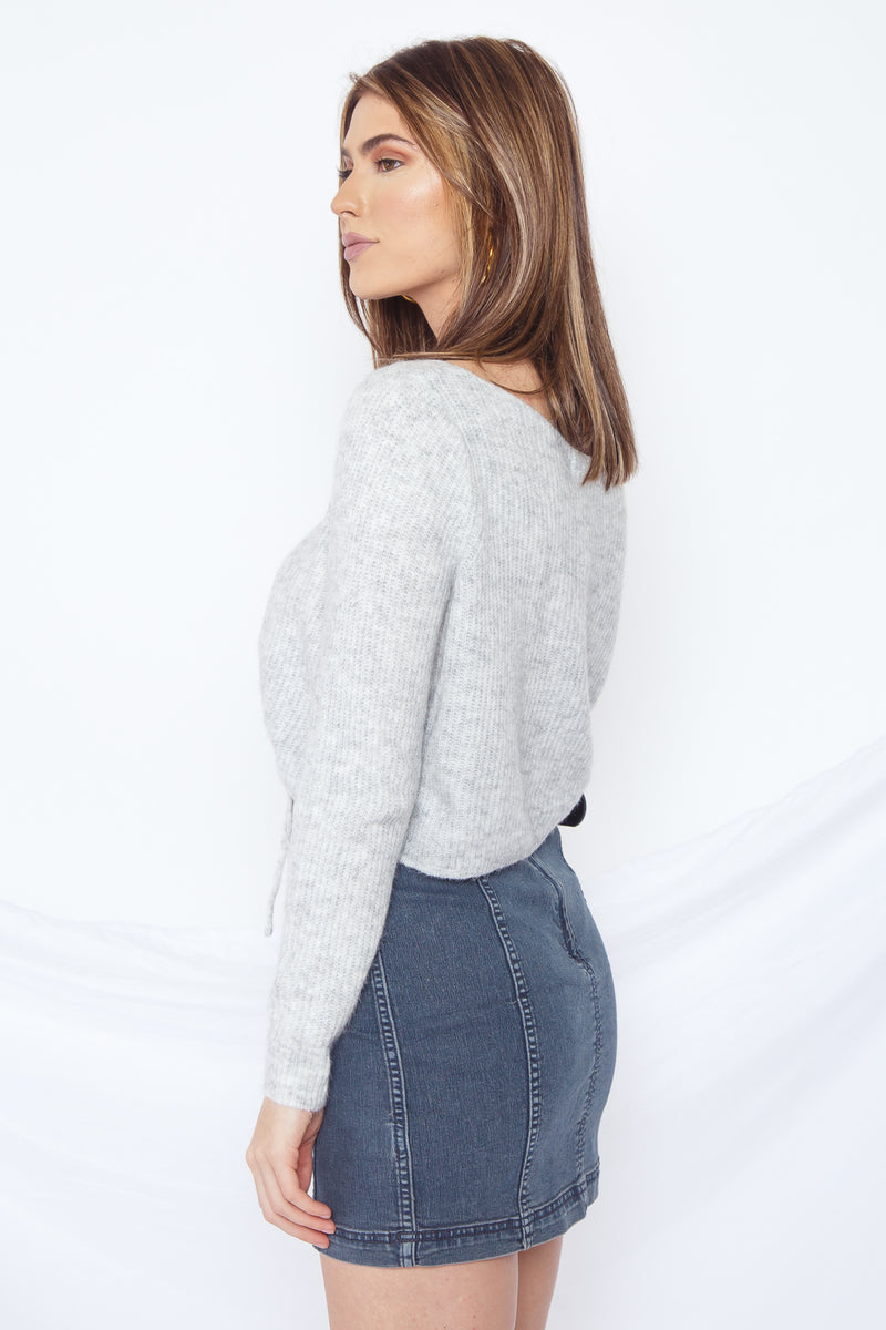 Candace Crop Sweater