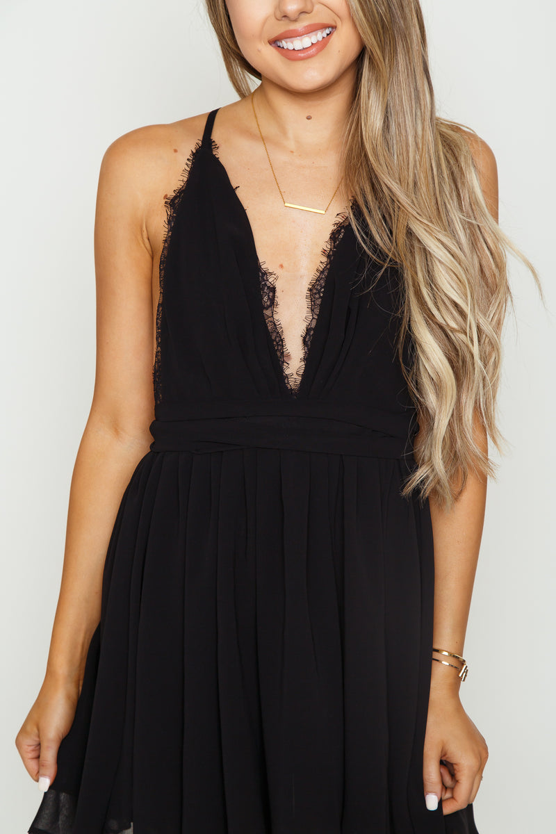 Venus Lace Mini Dress
