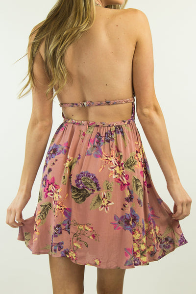 Myrcella Halter Dress