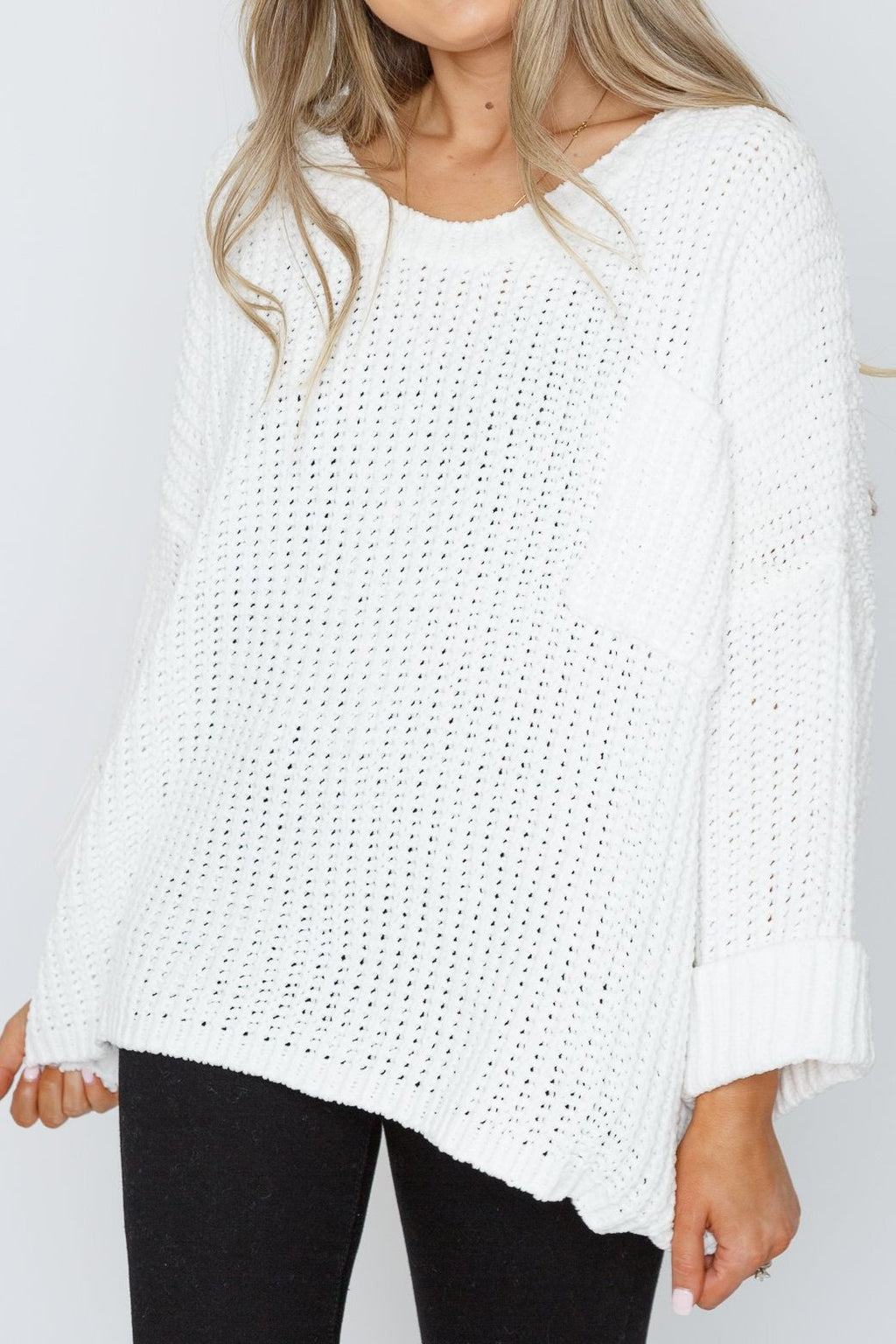 Megan Sweater Ivory