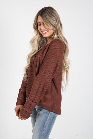 Luxe Sweater Rust