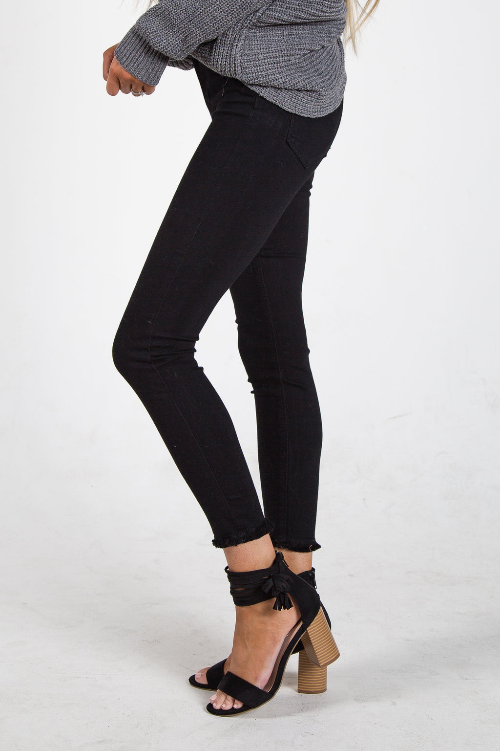 Just Black Super High Rise Skinny