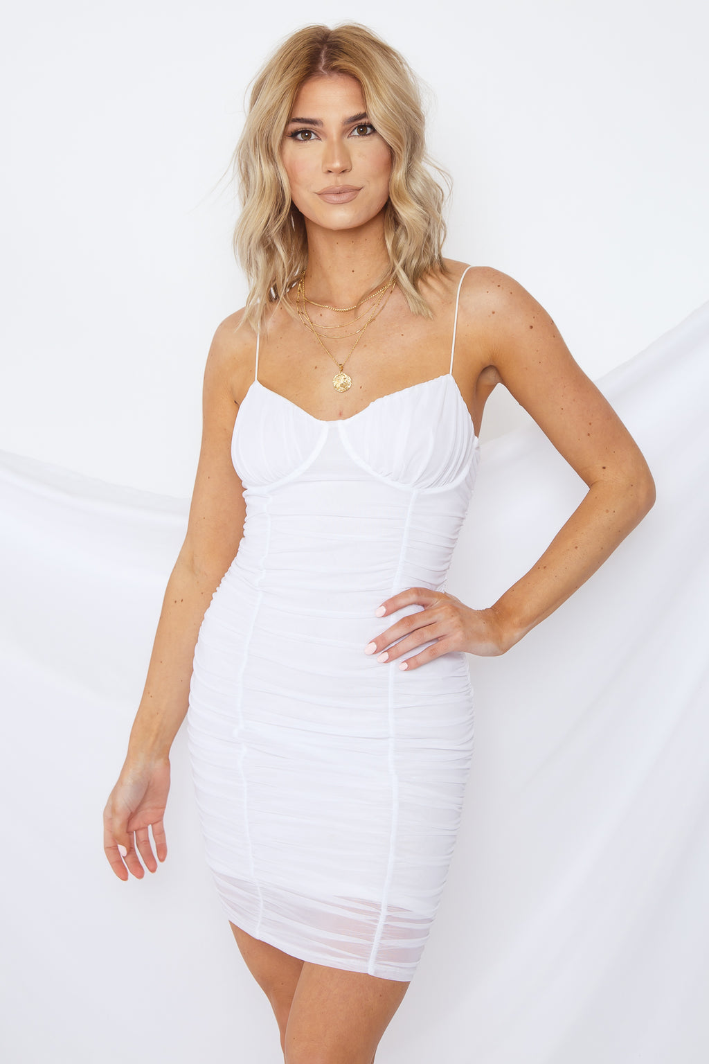 Ivanna Ruched Dress