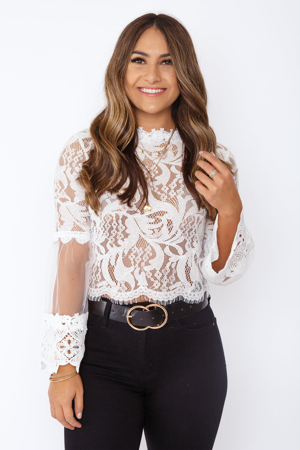 Risa Lace Top