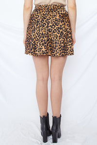 Wild Thoughts Mini Skirt