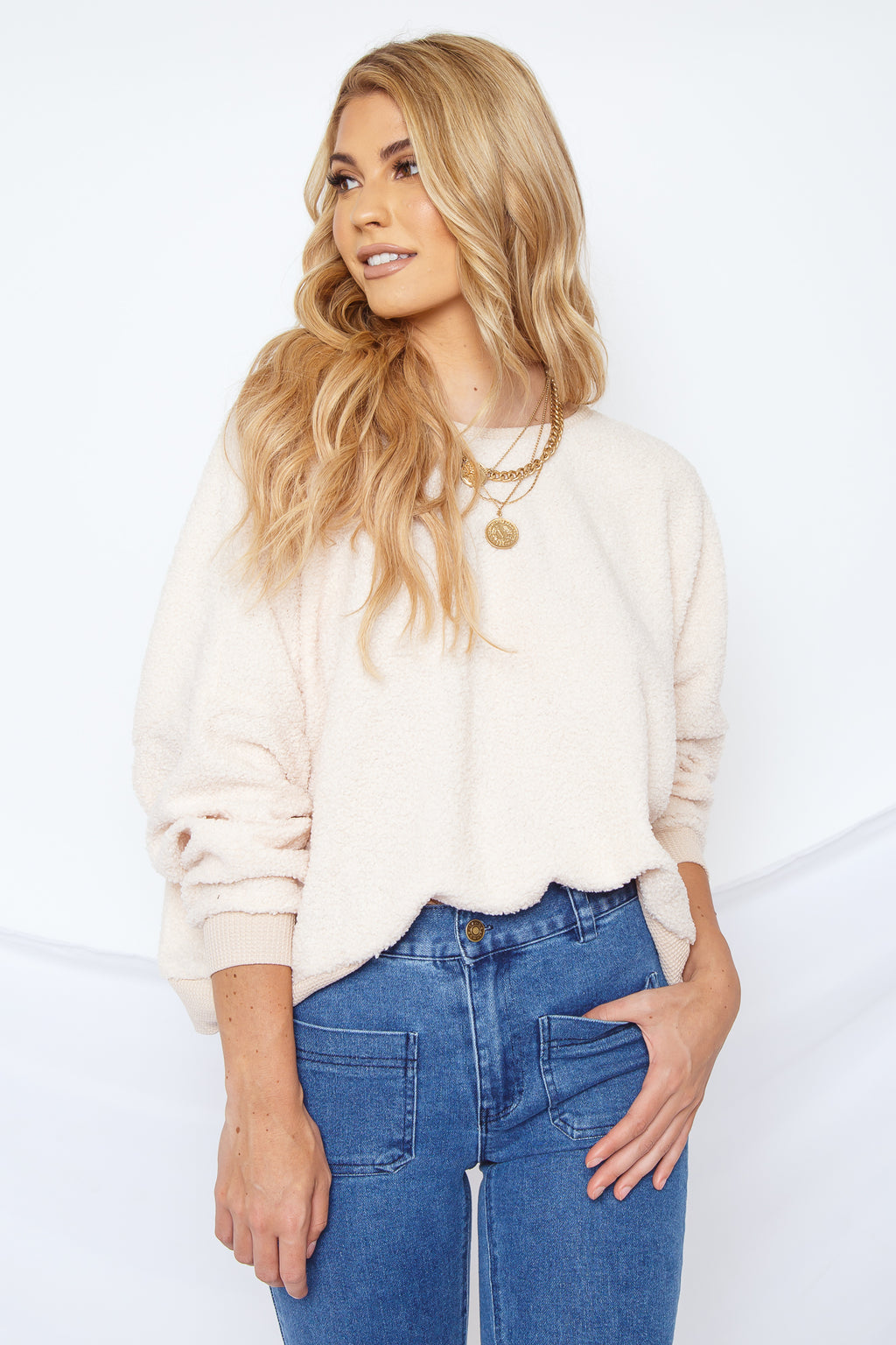 Brianna Open Back Sweater