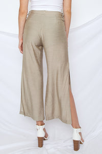 Lyla Lace Up Pants