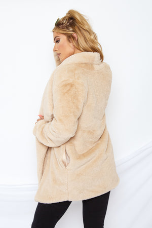 Fallon Faux Fur Coat