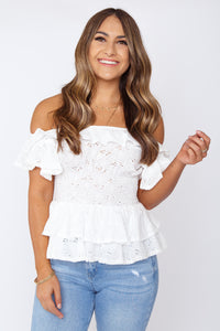 Tori Embroidered Blouse
