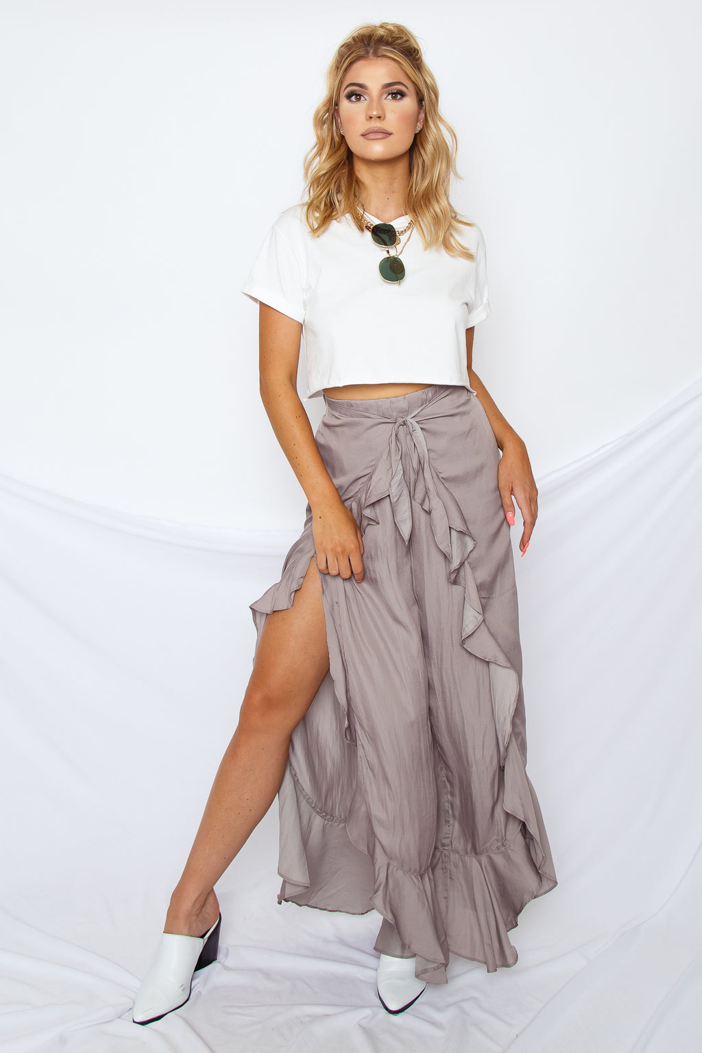 Lydia Asymmetrical Pants