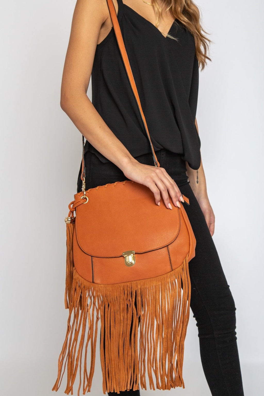 Kennedy Fringe Bag